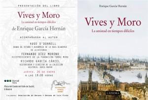 Presentación del libro Vives y Moro