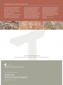 Vida del Renacimiento español. Ciclo de conferencias